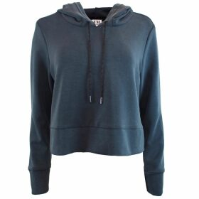 PAISIE - Striped Wrap Top With Tie In Navy, Gold & White