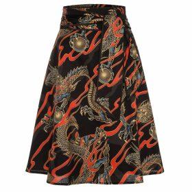 Marianna Déri - Scarlett Skirt Dragons Black