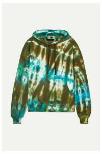 AMIRI - Oversized Tie-dyed Cotton-jersey Hoodie - Green
