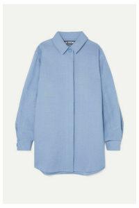 Jacquemus - Loya Oversized Silk Shirt - Sky blue
