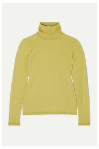 Max Mara - Wool Turtleneck Sweater - Yellow