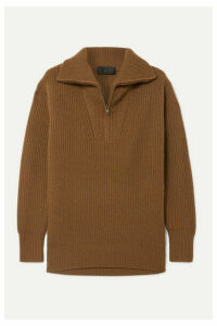 Nili Lotan - Beni Ribbed Cashmere Sweater - Brown