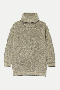 The Row - Gene Cashmere And Silk-blend Turtleneck Sweater - Beige