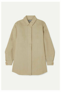 Jacquemus - Loya Oversized Silk Shirt - Beige