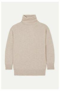 Max Mara - Leisure Wool Turtleneck Sweater - Beige