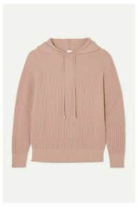 Max Mara - Leisure Ribbed Wool Hoodie - Pink