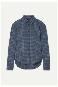 Acne Studios - Sovilla Checked Oxford Shirt - Blue