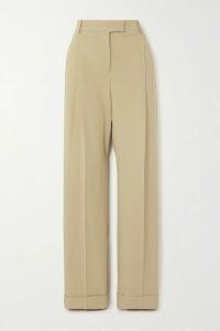 Jason Wu - Leather Straight-leg Pants - Black