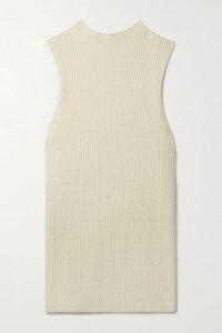 Alanui - Fringed Cashmere And Silk-blend Jacquard Cardigan - Black