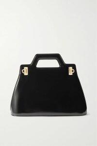 Balenciaga - Oversized Faux Fur Coat - Dark green
