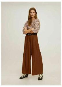 Metallic thread blouse