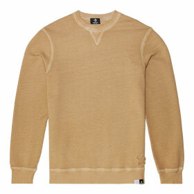 Italian Crafted Dye Long-Sleeve Crew