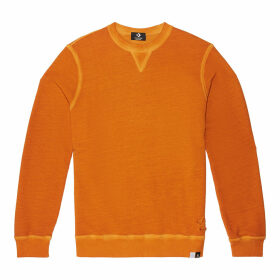 Italian Crafted Dye Long-Sleeve Crew