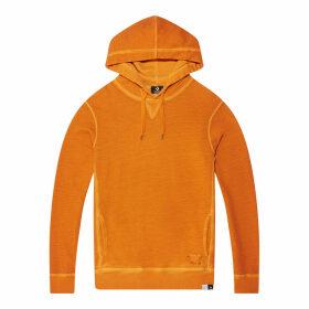 Italian Crafted Dye Fleece Hood Sweatshirt