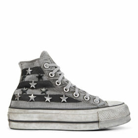 Chuck Taylor All Star Vintage Star Studs Platform High Top