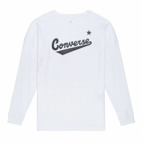 Womens Script Long Sleeve Tee