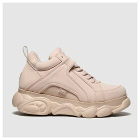 Buffalo London Pale Pink Corin Trainers