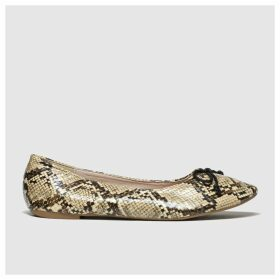 Schuh Natural Sweetheart Flat Shoes