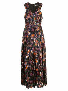 Derek Lam 10 Crosby floral print maxi dress - Black