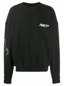 Represent logo print sweatshirt - Black