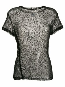 Gaelle Bonheur ruched detail blouse - Black