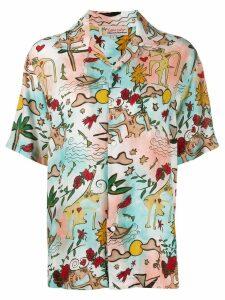 Esteban Cortazar love print shirt - PINK