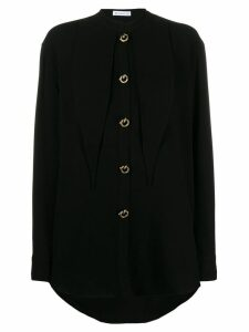 Rejina Pyo mandarin collar shirt - Black
