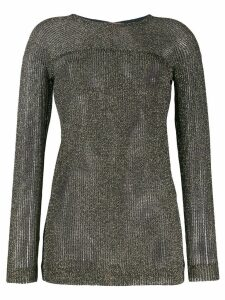 Missoni mesh style knitted top - Black