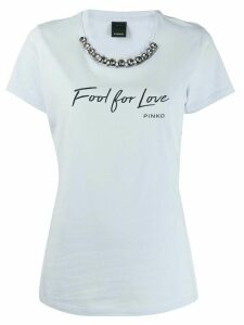 Pinko fool for love T-shirt - Blue