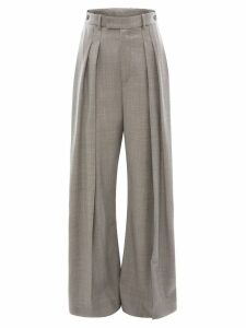 JW Anderson high waisted wide leg trousers - Grey