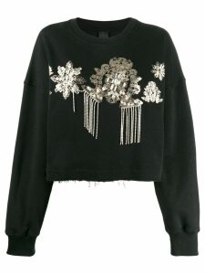 Pinko embellished sweatshirt - Black