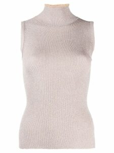 Missoni ribbed tank top - PINK