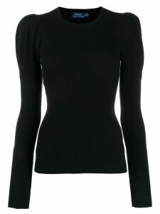 Polo Ralph Lauren long-sleeve fitted sweater - Black