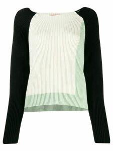 Missoni colour block jumper - NEUTRALS
