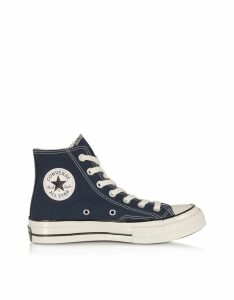 Converse Limited Edition Designer Shoes, Obsidian Chuck 70 w/ Vintage Canvas High Top