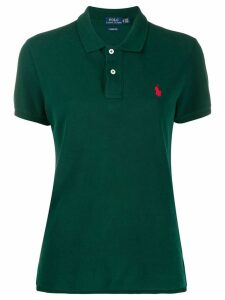 Polo Ralph Lauren button up collar polo top - Green