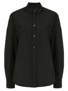 We11done oversized long sleeve shirt - Black