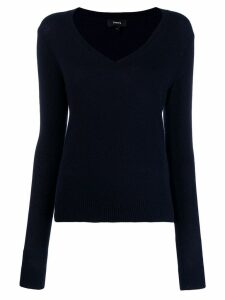 Theory V-neck jumper - Blue