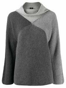 PS Paul Smith ribbed roll-neck jumper - Grey