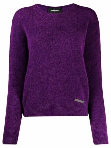 Dsquared2 roll neck sweater - PURPLE