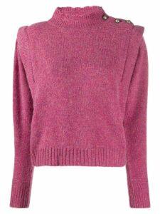 Isabel Marant Étoile panelled ribbed jumper - Pink