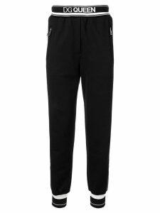 Dolce & Gabbana DG Queen track pants - Black