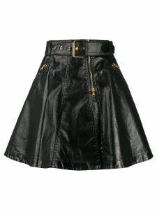 Moschino biker skirt - Black