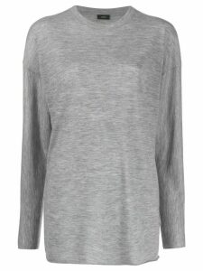 Joseph slouchy fit T-shirt - Grey