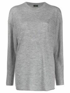 Joseph slouchy fit T-shirt - Grey