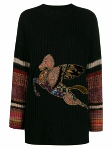 Etro Pegaso jumper - Black