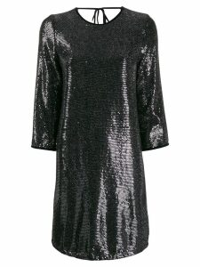 LIU JO metallic shift dress - Black