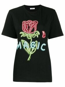 P.A.R.O.S.H. Magic embellished T-shirt - Black