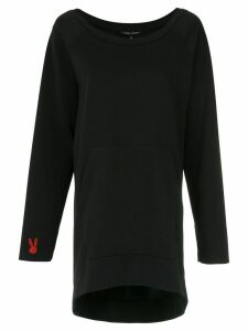 Gloria Coelho long sweatshirt - Black