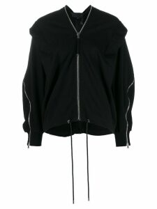 Diesel Black Gold draped zip-detail jumper